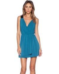 BCBGeneration Wrap Dress - Lyst