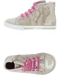 Alviero Martini 1a Classe Beige Hightops  Trainers - Lyst