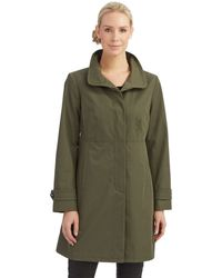 Jones New York Fly Front Topper Jacket - Lyst