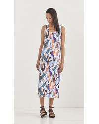 Carven Printed Dress - Lyst