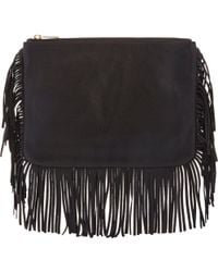 Barneys New York Molly Medium Clutch black - Lyst