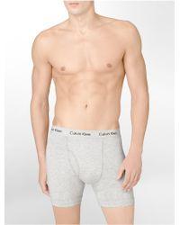 Calvin Klein Cotton Stretch 2-pack Boxer Brief - Lyst