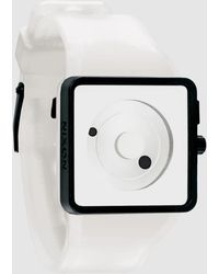 Nixon White Wrist Watch - Lyst