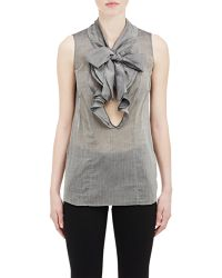 Marni Tie-Neck Sleeveless Top - Lyst