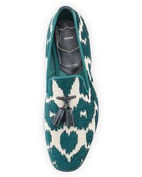 Tom Ford Chesterfield Jacquard Smoking Slipper - Lyst