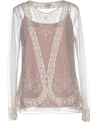 Alice By Temperley Shirt beige - Lyst