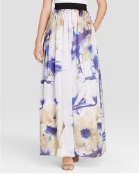 ABS By Allen Schwartz - Skirt - Digital Floral Print - Lyst
