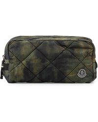Moncler - Quilted Nylon Toiletry Bag - Lyst