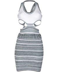 Mark Fast - Short Dress - Lyst