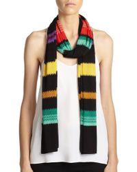 Missoni Striped Scarf multicolor - Lyst