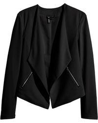H&M Crêpe Jacket - Lyst