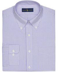 Ralph Lauren Polo Gingham Dress Shirt - Lyst