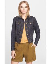 Burberry Brit 'Dymchurch' Denim Jacket blue - Lyst