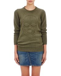 Lucien Pellat Finet - Skull Sweater - Lyst