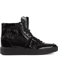 Gucci Hi-top Sneakers - Lyst