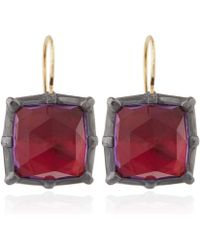 Larkspur & Hawk - Pink Amethyst Bella Earrings - Lyst