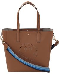 Anya Hindmarch   Ebury Smiley Featherweight Tote   Lyst