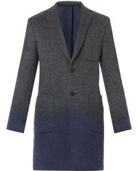 Balenciaga Dégradé Wool Coat - Lyst
