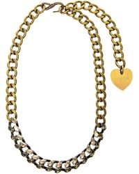 Lanvin Susan Crystal and Chain Necklace - Lyst