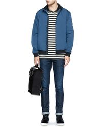 Seventy Eight Percent - 'esteban' Leather Canvas Backpack - Lyst