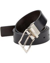 Calvin Klein Reversible Leather Belt - Lyst