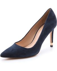 Tory Burch Greenwich Pumps - Tory Navy - Lyst