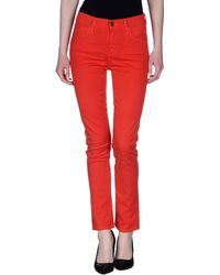 Citizens of Humanity Casual Trouser red - Lyst