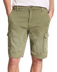 Joe's Jeans Cargo Jogger Shorts green - Lyst