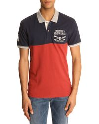 Selected Rover Navy Polo blue - Lyst