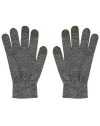 Topshop Knitted Touch Screen Glove - Lyst