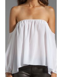 Boulee Audrey Top in Ivory - Lyst