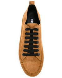 Ann Demeulemeester Blanche - Lace-up Trainers - Lyst