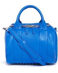 Alexander Wang 'Rockie' Pebbled Leather Duffle Bag - Lyst