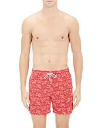 Roda - Men's Bandana-print Board Shorts - Lyst