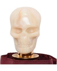 Alexander McQueen - Skull Folding Umbrella - Lyst
