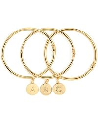 Kate Spade One In A Million Initial Bangle - Lyst