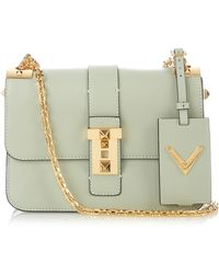 Valentino - B-rockstud Smooth-leather Shoulder Bag - Lyst