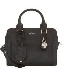 Alexander McQueen - Mini Textured Padlock Bag - Lyst