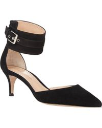 Gianvito Rossi Belle Bucklecuff Pumps - Lyst