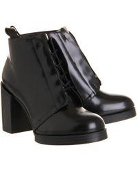 Cheap Monday Layer Hidden Lace Boot - Lyst
