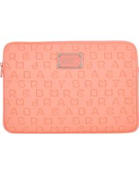 Marc By Marc Jacobs Dreamy Logo 11 Computer Case - Lyst