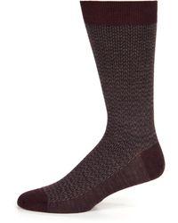 Brioni Wool Dress Socks - Lyst