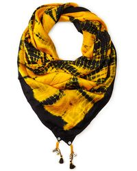 Antik Batik Silk Square Scarf - Lyst
