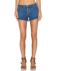 Free People Runaway Cut Off Short - Lyst