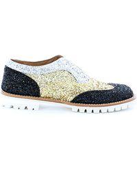 L'f Shoes Silver Scarpe Argentooronero - Lyst