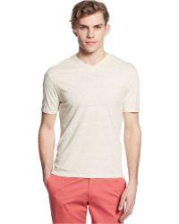 Vince Camuto - V-neck Slim-fit T-shirt - Lyst