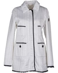 Geospirit Mid-Length Jacket white - Lyst