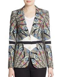 Etro Floral Kaleidoscope Jacket - Lyst