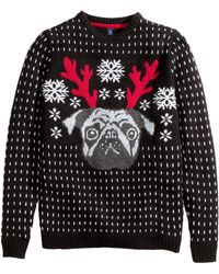 H&M Christmas Jumper - Lyst