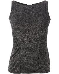Armani Sparkle Top - Lyst